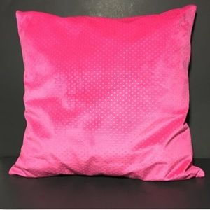 IKEA Cushion AND Cushion Cover Dotted Hot Pink